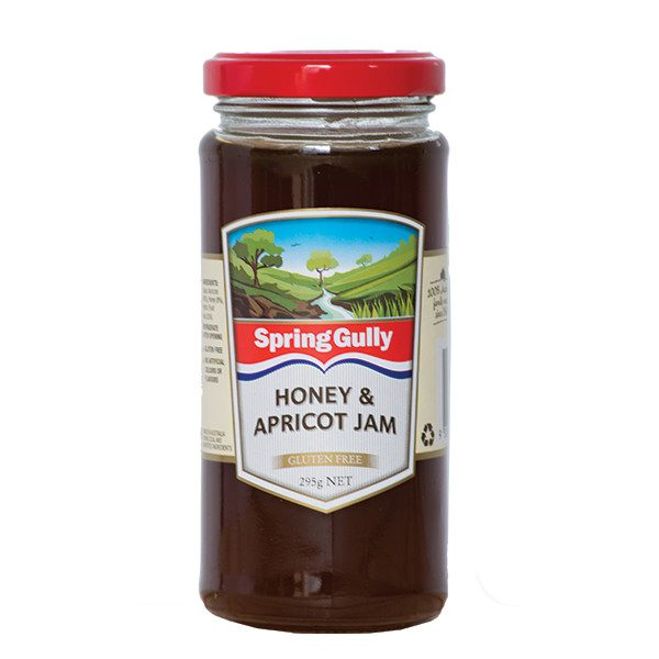 honey & apricot jam
