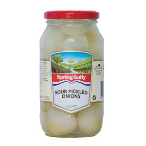 sour pickled onions