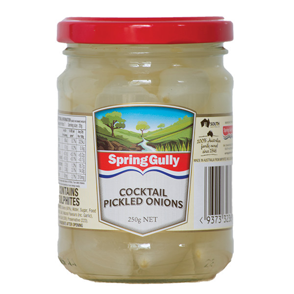 cocktail pickled onions