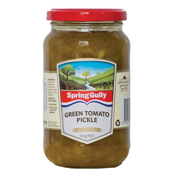 Green Tomato Pickle