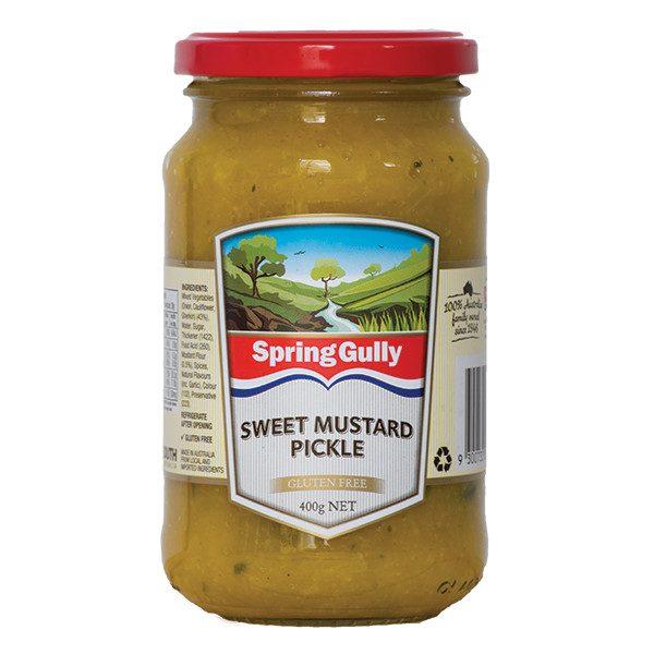 Sweet Mustard Pickle