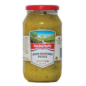 Sour Mustard Pickle